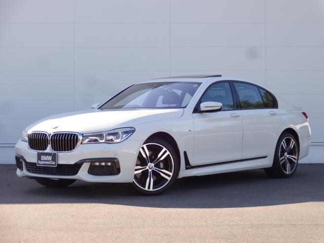 BMW 750i Mスポーツ サンルーフ ベンチレーションシート