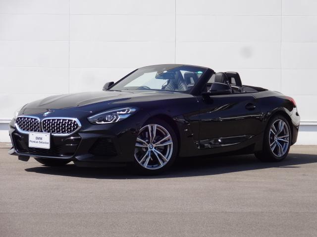 BMW Z4 sDrive20i Mスポーツ 元弊社社有車 2Lターボエンジン搭載 8速AT ACC レザーシート 純正HDDナビ ブルートゥース ミュージックサーバー シートヒーター LEDヘッドライト リバースアシスト パーキングアシスト