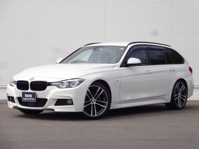 BMW 320dツーリング Mスポーツ エディションシャドー ACC レザー 社外地デジ 19インチ