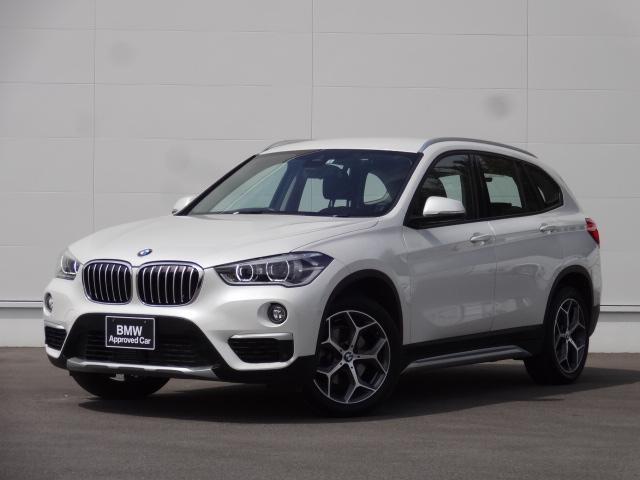 BMW X1 xDrive 18d xライン ディーゼルターボ xDrive(4WD) ミネラルホワイト ACC ヘッドアップディスプレイ シートヒーター バックカメラ 純正HDDナビ CD・DVD ブルートゥース LEDヘッドライト