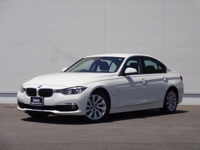 BMW 3シリーズ 330eラグジュアリー 純正HDDナビ シートヒーター 車内ウッドパネル ブラックレザーシート シートヒーター 電動シート ACC リアPDC バックカメラ LEDヘッドライト ETC 充電用車載ケーブル