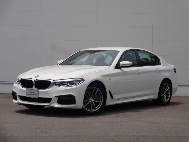 BMW 5シリーズ 523d xDrive Mスピリット ディーゼルターボ xDrive(4WD) 8速AT 電動シート シートヒーター 純正18インチアルミホイール ACC LEDヘッドライト アンビエントライト Bカメラ ステアリングアシスト