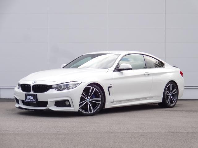 BMW 420iクーペ Mスポーツ ワンオーナー ダウンサス ファストトラックパッケージ 純正19インチアルミホイール HDDナビ Bカメラ Mブレーキ 前後スポイラー ACC パドルシフト ブラックキドニーグリル CD