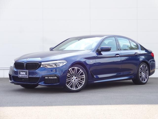 BMW 5シリーズ 523i Mスポーツ HDDナビ ACC レザーシート 前後シートヒーター Bカメラ サイドカメラ ステアリングアシスト bluetooth ETC DVD ミュージックサーバー アダプティブLEDライト 19インチAW