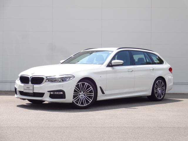 BMW 5シリーズ 523dツーリング Mスポーツ ハイラインパッケージ HDDナビ ACC ステアリングアシスト ヘッドアップディスプレイ Bカメラ 地デジチューナー オートマチックテールゲート トップビューカメラ bluetooth ETC 19インチAW