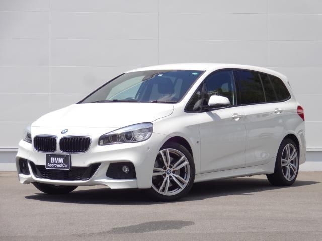 BMW 220iグランツアラー Mスポーツ 純正HDDナビ ACC ヘッドアップディスプレイ Bカメラ オートマチックテールゲート 追突軽減ブレーキ 前後PDC コンフォートアクセス bluetooth ETC CDDVD ミュージックサーバー