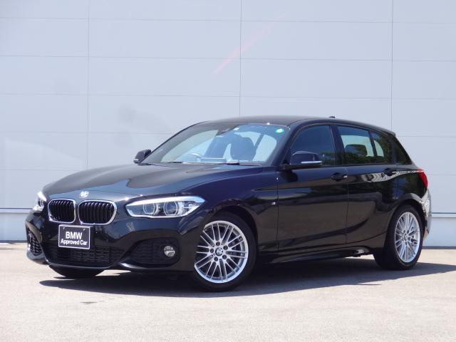 BMW 118i Mスポーツ HDDナビ 追突軽減ブレーキ Bカメラ コンフォートアクセス 前後PDC bluetooth ETC LEDライト 17インチAW