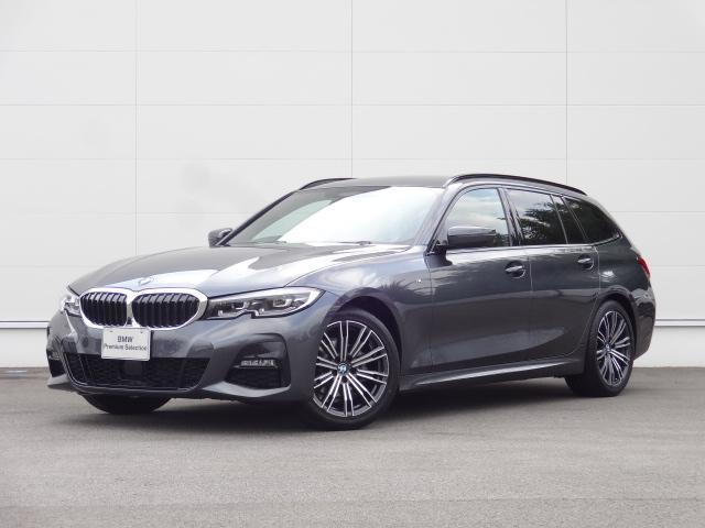 BMW 318iツーリング Mスポーツ HDDナビ ACC 追突軽減ブレーキ ステアリングアシスト Bカメラ 電動シート bluetooth ワイヤレスチャージング ETC 前後PDC オートマチックテールゲート 18インチAW