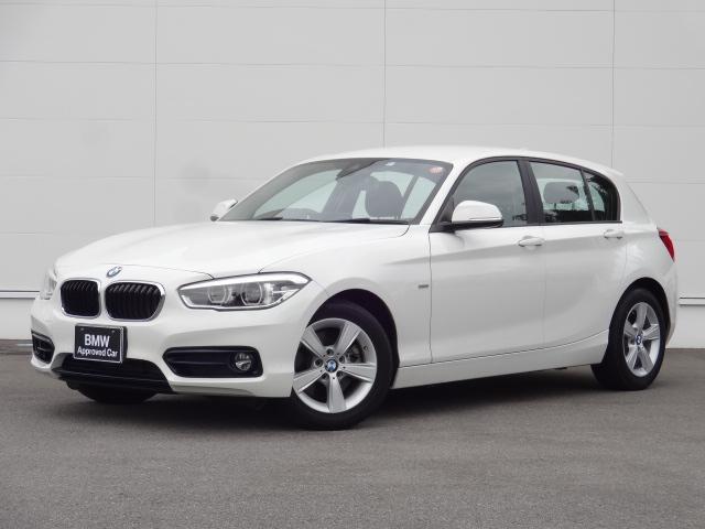 BMW 118i スポーツ ガソリンターボ 正規認定中古車 純正HDDナビ Bカメラ PDC ブルートゥース CD・DVD再生 オートクルーズ オートエアコン LEDヘッドライト 純正16インチアルミホイール