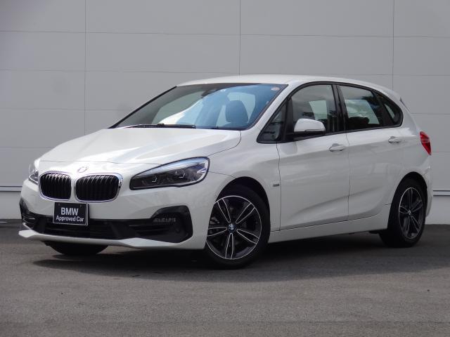 BMW 218iアクティブツアラー スポーツ 純正HDDナビ コンフォートアクセス 追突軽減ブレーキ 前後PDC ETC bluetooth バックカメラ シートヒーター パーキングアシスト LEDヘッドライト 電動テールゲート
