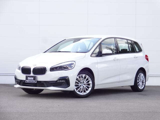BMW 2シリーズ 218dグランツアラー HDDナビ ACC コンフォートアクセス Bカメラ LEDライト シートヒーター ヘッドアップディスプレイ パーキングアシスト 電動テールゲート bluetooth ETC