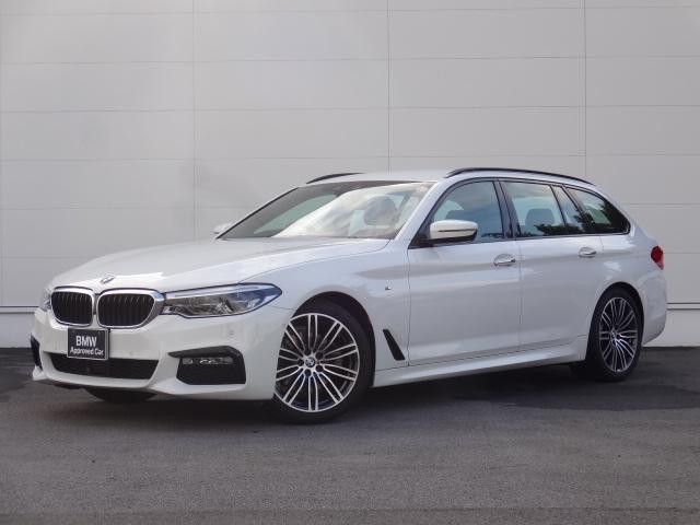 BMW 523iツーリング Mスポーツ ハイラインパッケージ 純正HDDナビ PDC レザーシート シートヒーター 電動シート ACC オートマチックテールゲート パーキングアシスト LEDヘッドライト ブルートゥース CD・DVD再生 地デジチューナー