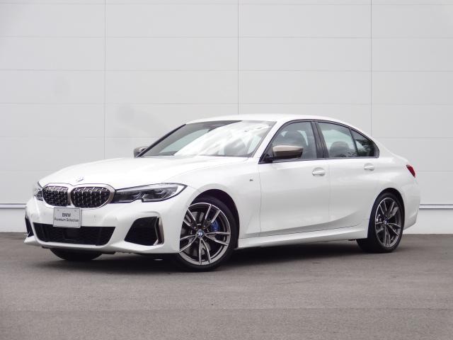 BMW M340i xDrive ACC HDDナビ レザーシート ハンズオフ Bカメラ bluetooth ハーマンカードンスピーカー ETC ヘッドアップディスプレイ トップビューSOSコール 追突軽減ブレーキ レーザーライト