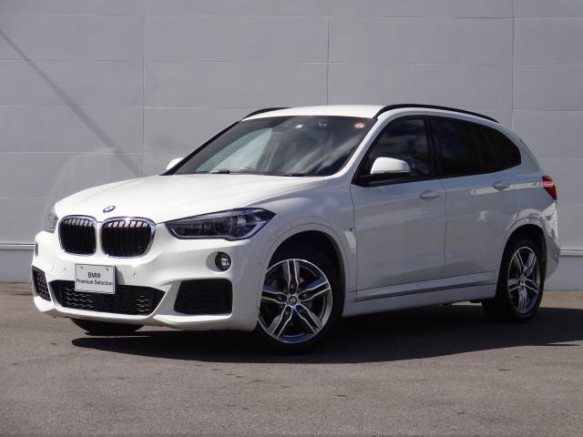 BMW X1 xDrive 18d Mスポーツ 純正HDDナビ ACC Bカメラ ヘッドアップディスプレイ オートマチックテールゲート 前後PDC ETC Bluetooth コンフォートアクセス シートヒーター
