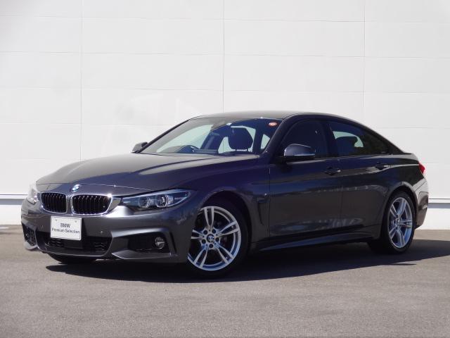 BMW 4シリーズ 420iグランクーペ Mスピリット 純正HDDナビ 純正地デジチューナー ブルートゥース Bカメラ ACC 電動シート シートヒーター オートマチックテールゲート パドルシフト SOSコール コンフォートアクセス ETC 純正18インチ