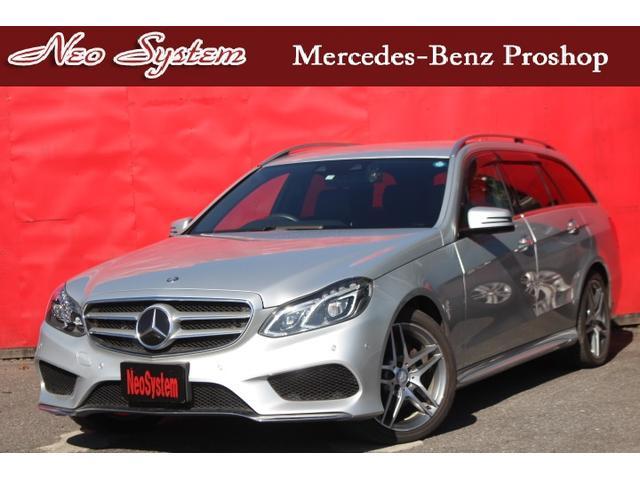 メルセデス・ベンツ Eクラスステーションワゴン E220ブルテックワゴンAVGディーゼル AMGスポーツPK