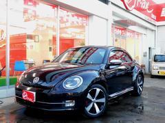 VW ザ・ビートルターボ  黒革シート ダックテール メッキミラー