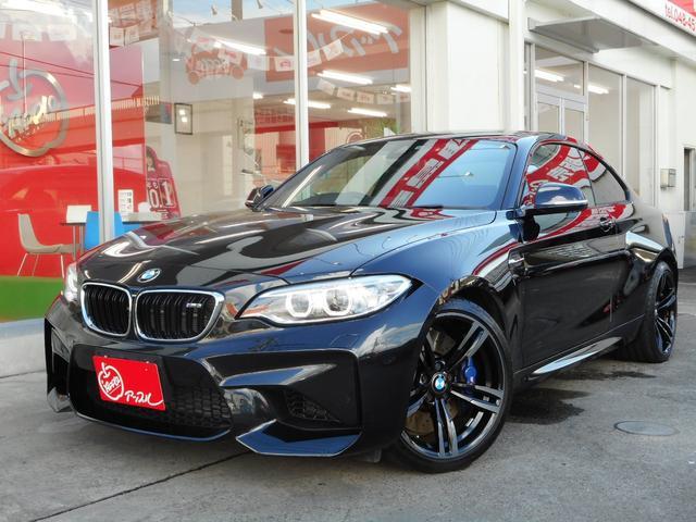 BMW M2 ベースグレード 1オーナー ハマーンカードン 地デジ パークトロニック ドラレコ レーダー BMWパフォーマンスカーボンリヤスポ&デュフェーザー
