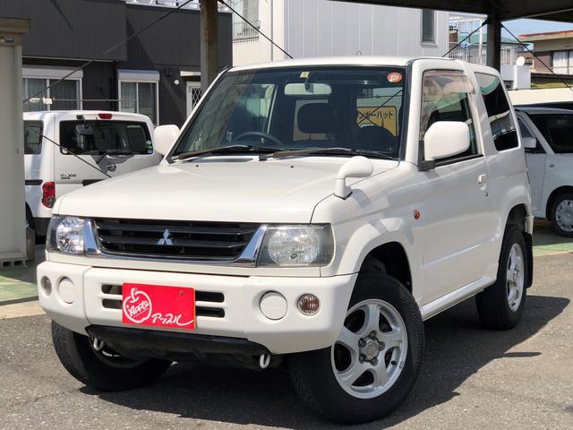 三菱 パジェロミニ X 4WD 走行5万キロ (検31.7)