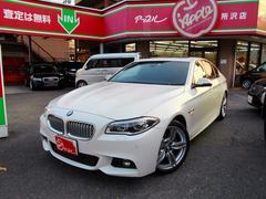 BMWアクティブハイブリッド5 Mスポーツ 黒革 サンルーフ