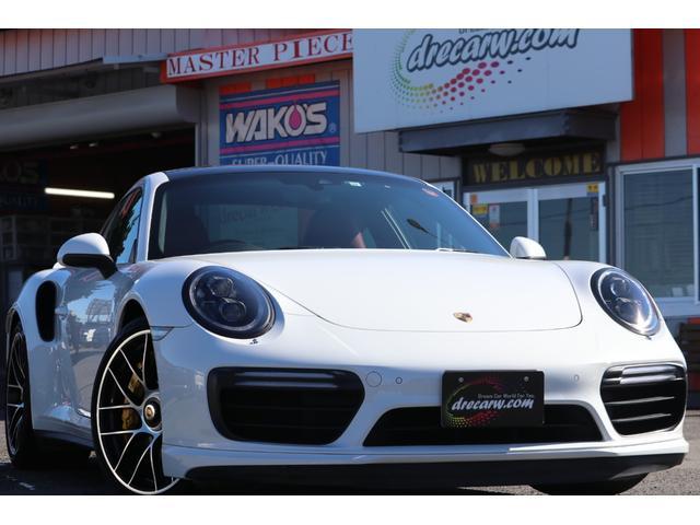 ポルシェ 911 911ターボS PCCB・PDCC・ボルドインストルメントパネル・エンボス加工・パワーステアリングプラス・ブラックLED・カーボンインテリア・ガラススライディングルーフ・パークセンサー