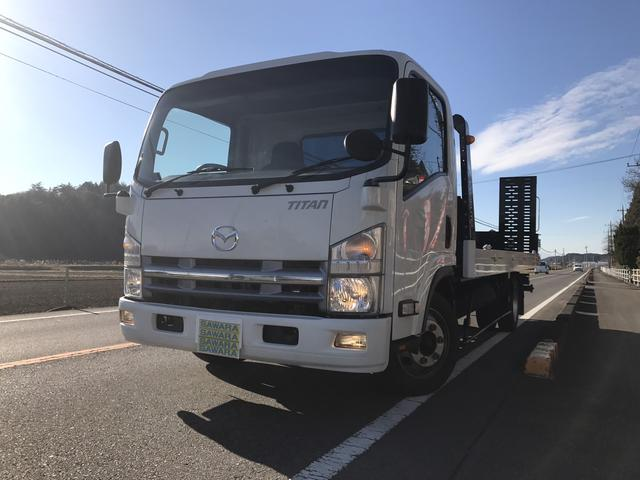 マツダ 極東製フルフラット積載車 3トン積載