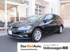 VW ゴルフヴァリアントTSI コンフォートライン ワンオーナー ルーフレール