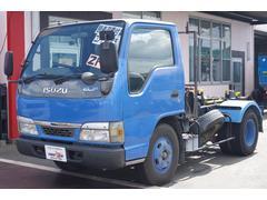 エルフトラック脱着装置付コンテナ専用車 フジマイティー製 4ナンバー 2t