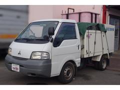 デリカトラック高圧ポンプ車 シンショー社製 8ナンバー