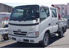 ダイナトラックWキャブロングシングルジャストロ 4WD Dターボ