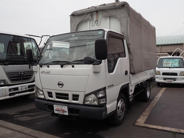 日産 幌ウイング 4WD積載1.9t