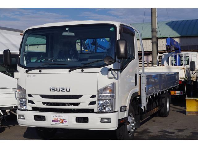 いすゞ 4WD 超ロング ワイドボディ5mアルミブロック 積載3t