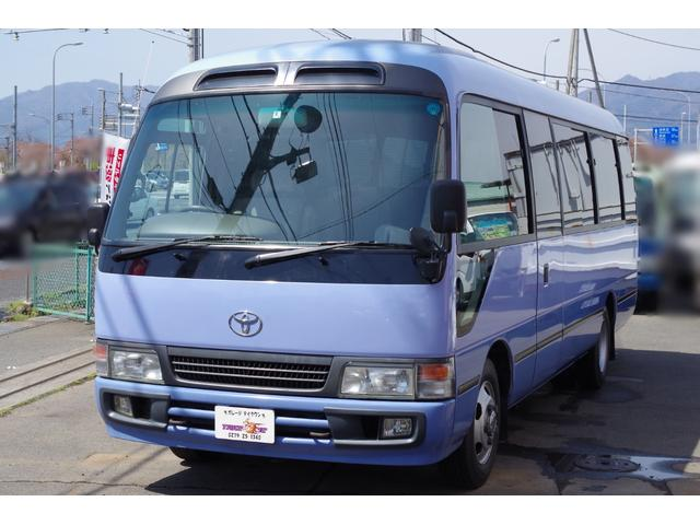 トヨタ ロングGX 29人乗り 自動ドア リクライニングシート AT