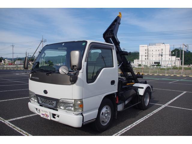 日産ディーゼル  脱着装置付コンテナ専用車(アームロール) いすゞOEM 4HL1 積載2t