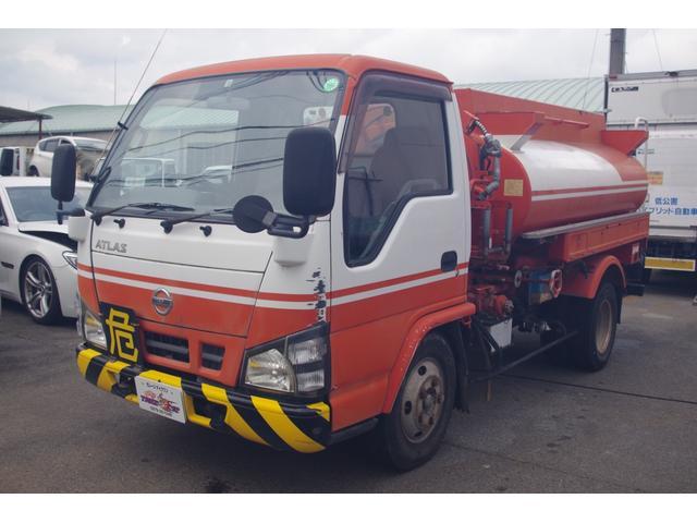 タンク車 4.8ディーゼル 積載3t 5MT エルフOEM 4HL1エンジン タンク書類あり