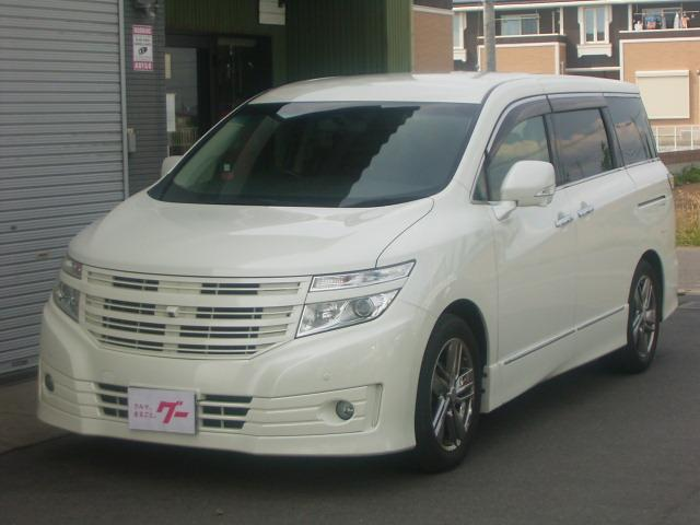 日産 ライダー 黒本革シート パワーシート 4WD SDナビ