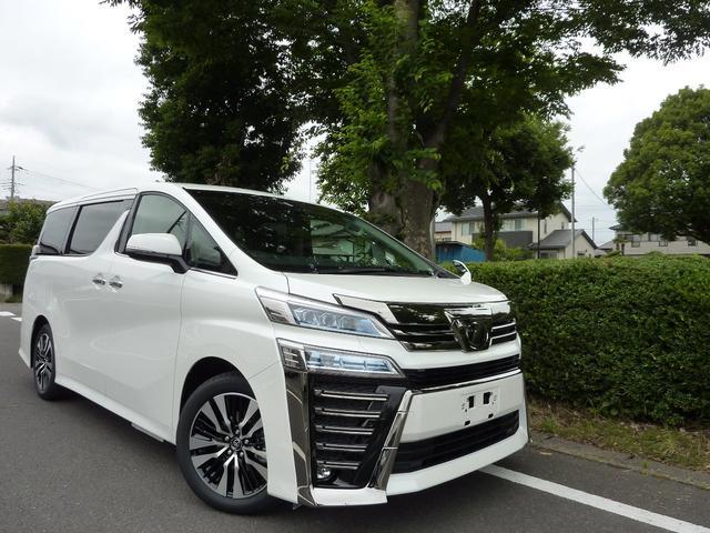 トヨタ 2.5ZG新型自動ブレーキ エグゼクティブシート 2眼LED
