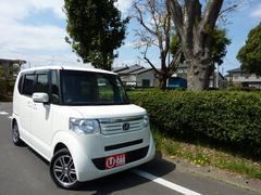 N BOXG・Lパッケージ ワンオーナー 買取り車 禁煙車 HDDナビ