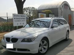 BMW525iツーリングハイラインパッケージ 黒革 キセノン