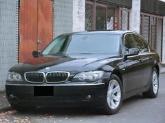 BMW740i 黒レザー 純正AW