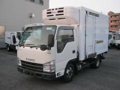 エルフトラック低温冷凍車 移動間仕切 スタンバイ付