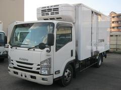 エルフトラック3.5tワイドロング低温冷凍車スタンバイ付