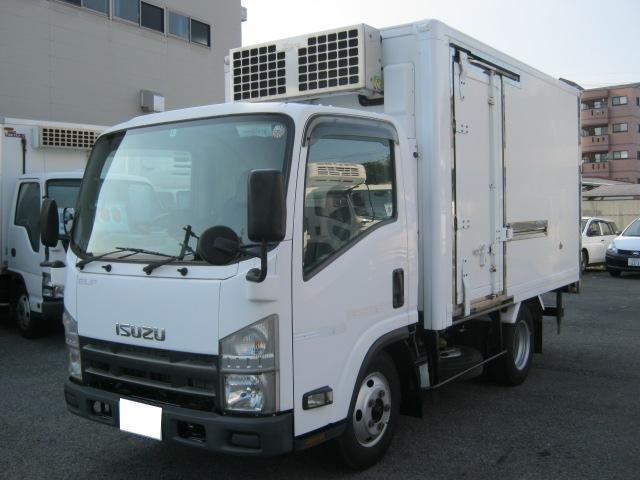 いすゞ 低温冷凍車2室2エバ 移動間仕切・スタンバイ付