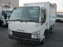 エルフトラック1.5t低温冷凍車 移動間仕切付