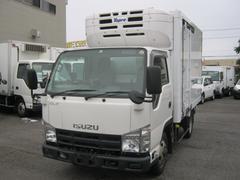 エルフトラック4WD低温冷凍車 両サイドドア 移動間仕切 スタンバイ付