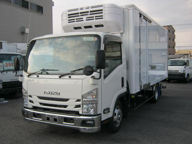 いすゞ ワイド超ロング低温冷凍車