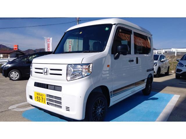 ホンダ N-VAN G・ホンダセンシング 4WD 軽減ブレーキ  デカール アルミ 当店試乗車