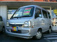 サンバーバンディアス4WD フル装備 CD 5速マニュアル