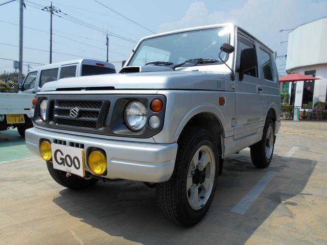 スズキ ワイルドウインド 4WD ターボ 16AW フォグランプ