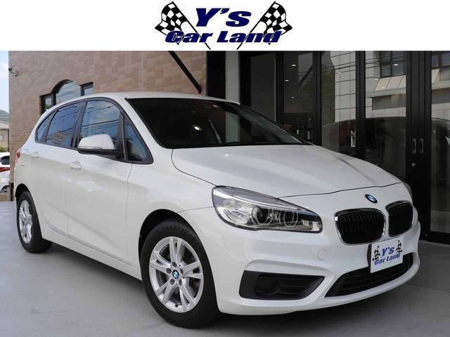 BMW 218iアクティブツアラー 走行43300km ディーラー車 右ハンドル 純正HDDナビ バックモニター LEDヘッドライト ドライビングアシスト レーンディパーチャー ETC